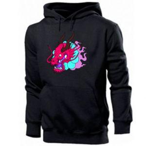 Męska bluza z kapturem Dragon