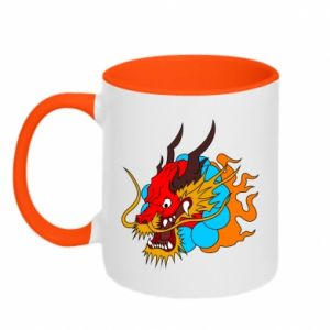 Two-toned mug Dragon