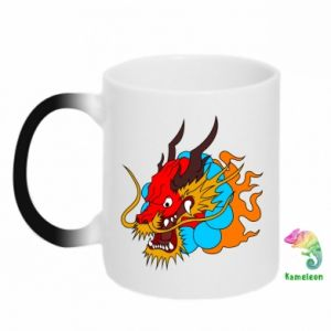Chameleon mugs Dragon