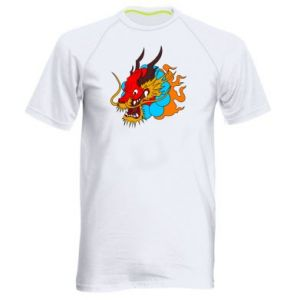 Men's sports t-shirt Dragon