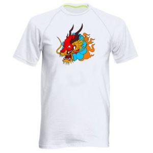 Męska koszulka sportowa Dragon