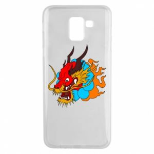 Samsung J6 Case Dragon