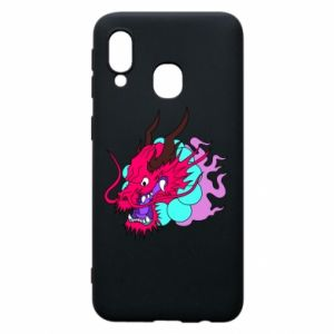Phone case for Samsung A40 Dragon