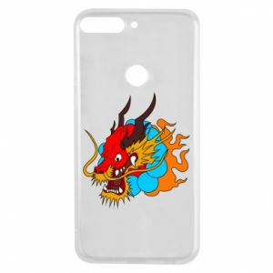 Huawei Y7 Prime 2018 Case Dragon
