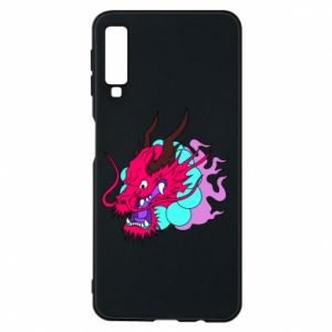 Phone case for Samsung A7 2018 Dragon