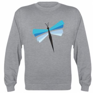 Bluza (raglan) Dragonfly abstraction