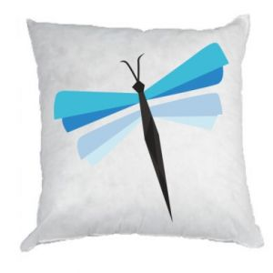 Pillow Dragonfly abstraction - PrintSalon
