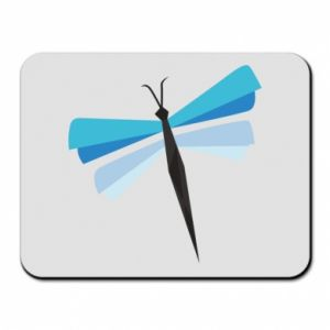 Mouse pad Dragonfly abstraction - PrintSalon