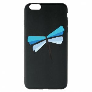 Etui na iPhone 6 Plus/6S Plus Dragonfly abstraction