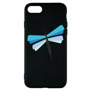 Etui na iPhone 7 Dragonfly abstraction