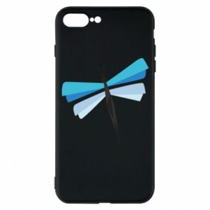 Phone case for iPhone 7 Plus Dragonfly abstraction - PrintSalon