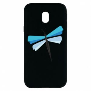 Phone case for Samsung J3 2017 Dragonfly abstraction - PrintSalon