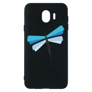 Etui na Samsung J4 Dragonfly abstraction