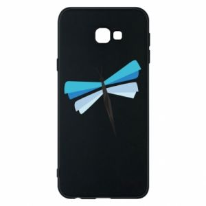 Etui na Samsung J4 Plus 2018 Dragonfly abstraction
