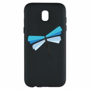 Etui na Samsung J5 2017 Dragonfly abstraction