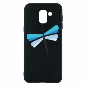 Etui na Samsung J6 Dragonfly abstraction