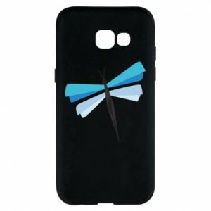Etui na Samsung A5 2017 Dragonfly abstraction
