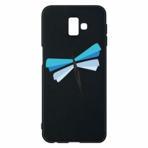 Phone case for Samsung J6 Plus 2018 Dragonfly abstraction - PrintSalon