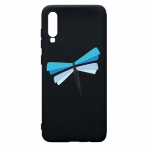 Etui na Samsung A70 Dragonfly abstraction