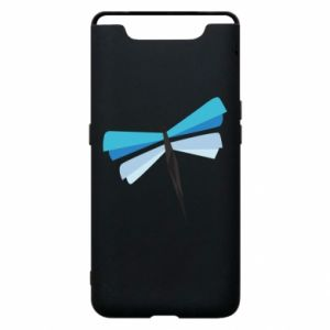 Etui na Samsung A80 Dragonfly abstraction