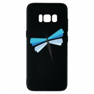 Etui na Samsung S8 Dragonfly abstraction