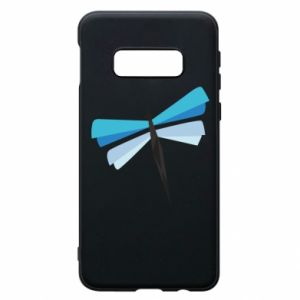Phone case for Samsung S10e Dragonfly abstraction - PrintSalon