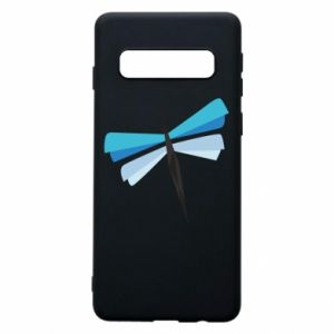 Etui na Samsung S10 Dragonfly abstraction