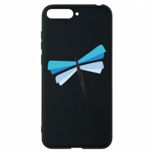 Phone case for Huawei Y6 2018 Dragonfly abstraction - PrintSalon