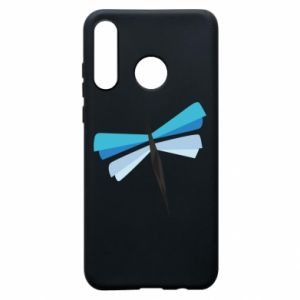 Etui na Huawei P30 Lite Dragonfly abstraction
