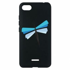 Etui na Xiaomi Redmi 6A Dragonfly abstraction