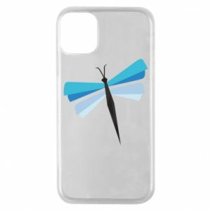 Etui na iPhone 11 Pro Dragonfly abstraction