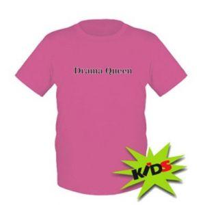 Dziecięcy T-shirt Drama queen