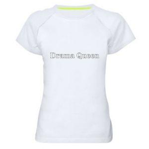 Damska koszulka sportowa Drama queen