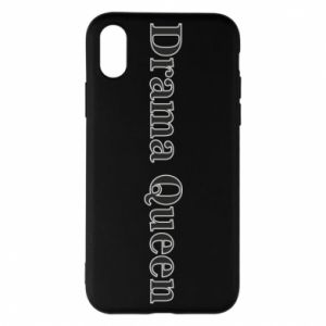 Phone case for iPhone X/Xs Drama queen