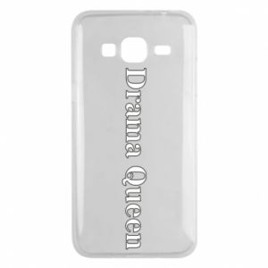 Phone case for Samsung J3 2016 Drama queen