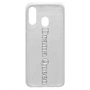 Phone case for Samsung A40 Drama queen