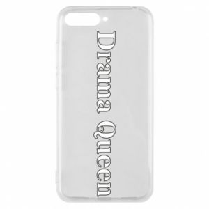 Phone case for Huawei Y6 2018 Drama queen