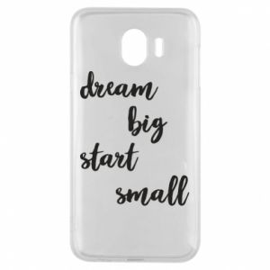 Etui na Samsung J4 Dream big start small