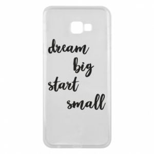 Etui na Samsung J4 Plus 2018 Dream big start small