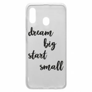 Etui na Samsung A30 Dream big start small