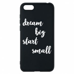 Etui na Huawei Y5 2018 Dream big start small