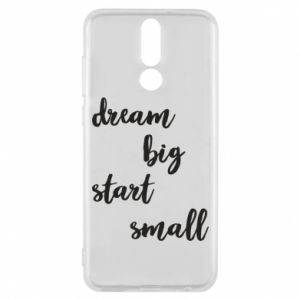 Etui na Huawei Mate 10 Lite Dream big start small