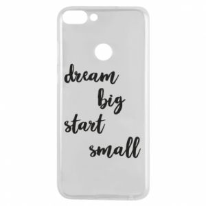 Etui na Huawei P Smart Dream big start small