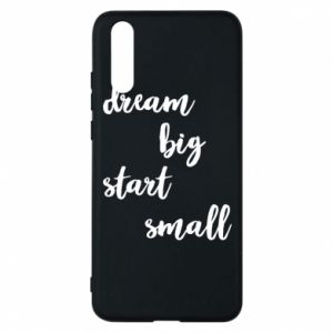 Etui na Huawei P20 Dream big start small