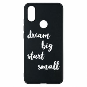 Etui na Xiaomi Mi A2 Dream big start small