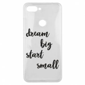 Etui na Xiaomi Mi8 Lite Dream big start small