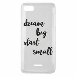 Etui na Xiaomi Redmi 6A Dream big start small