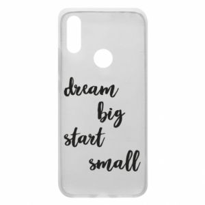 Etui na Xiaomi Redmi 7 Dream big start small
