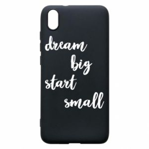 Etui na Xiaomi Redmi 7A Dream big start small