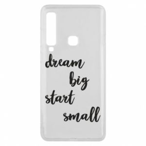 Etui na Samsung A9 2018 Dream big start small